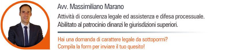 Avv. Massimiliano Marano